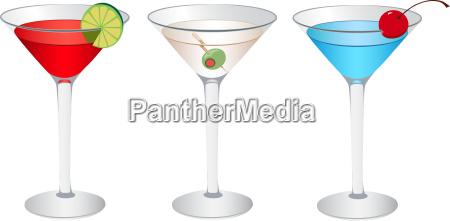 cosmopolitan martini and betty blue