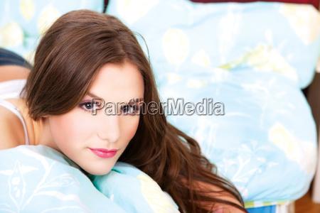 girl in bedroom