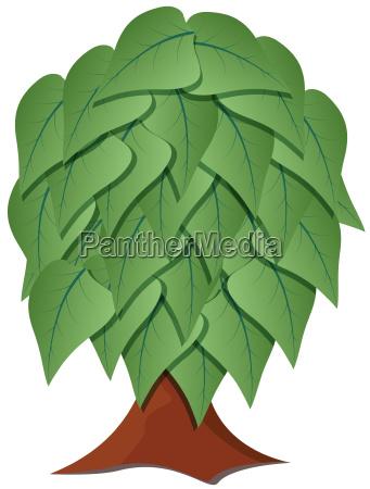 tree stylized