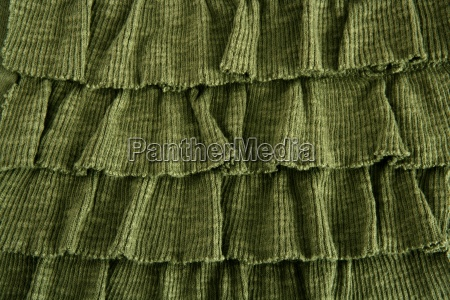pleated skirt fabric fashion in green