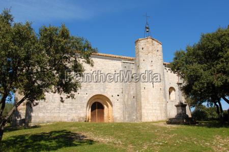 church saint sylvestre des brousses puechabon