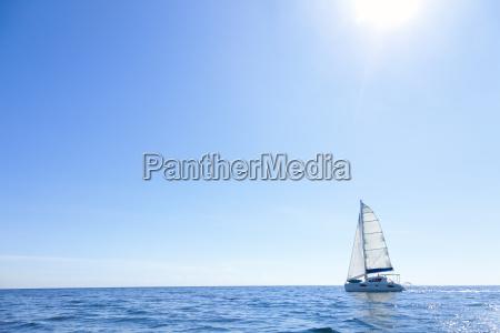 open sea sailing