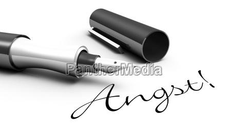 anxiety pen concept