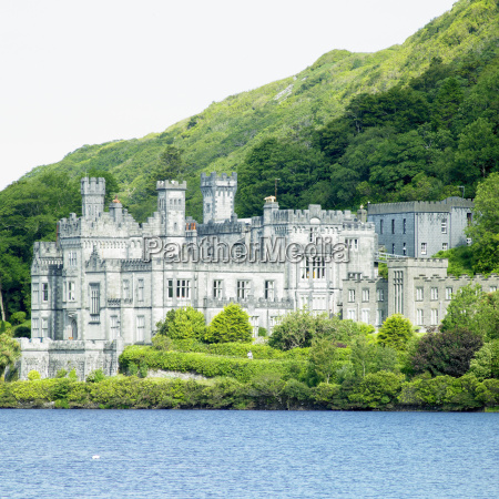 kylemore, abbey, , county, galway, , ireland - 7100327