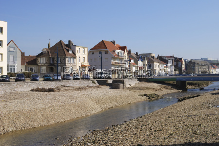 apartments by river at wimereux france