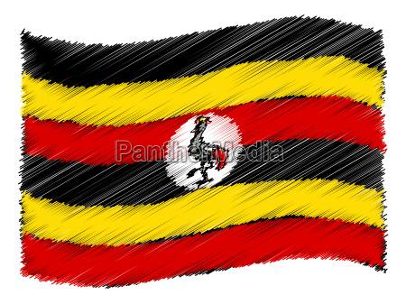 sketch uganda