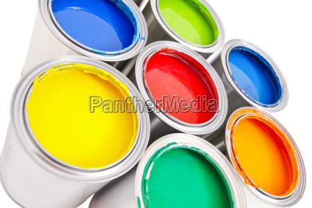 paint bucket isolated