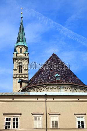 church franziskanerkirche in salzburg