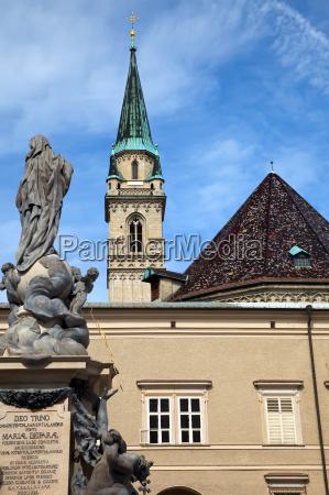 franziskanerkirche in salzburg austria