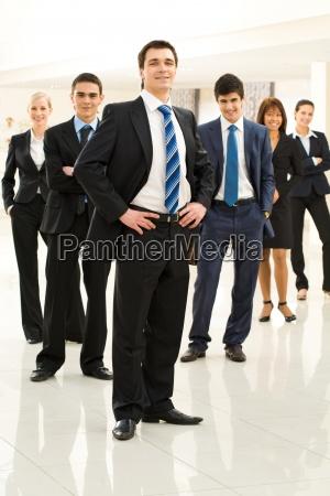 leader of corporation