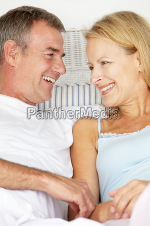mid age couple in love