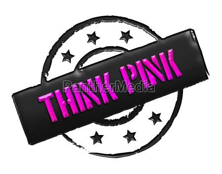 stamp think pink