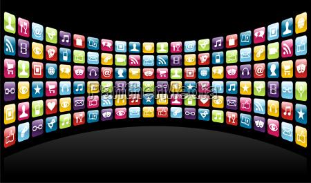 iphone app icons background