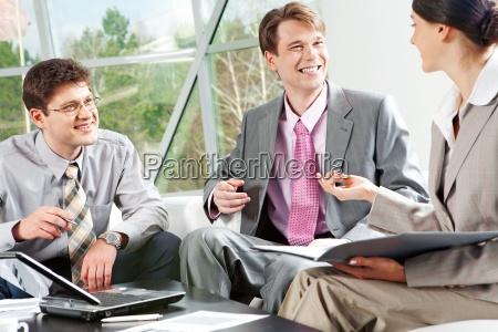 working conversation