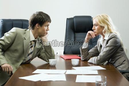tense negotiations