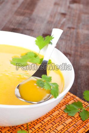 delicious vegetable cream soup