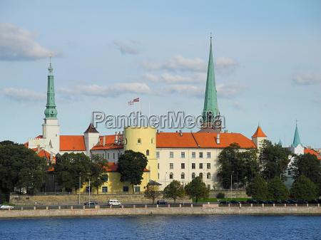 castle of riga in latvia