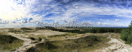 the curonian spit in kaliningrad