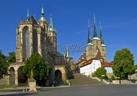 cathedral square in erfurt