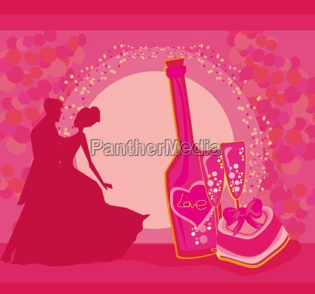 ballroom dancers invitation