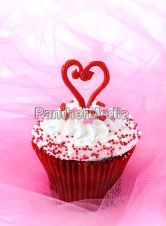 cupcake for valentine
