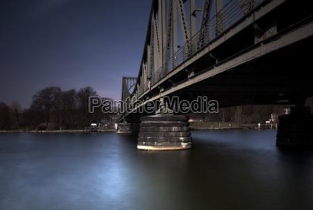 detail of glienicker bridge
