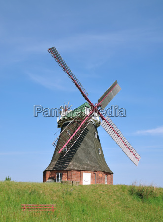 the famous windmill of stove on