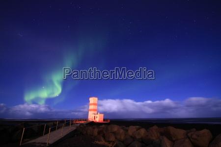 northern lights on iceland