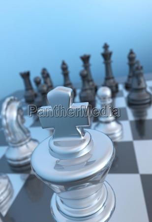 chessman focus near