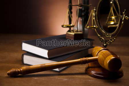 law and justice concept wooden gavel