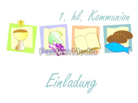 einaldung communion