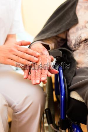 age and care a nurse