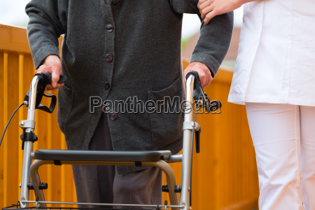 age and care nurse and
