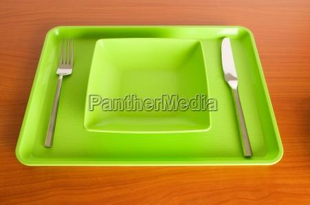 set of utensils arranged on the