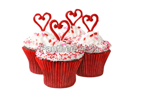 cupcakes for valentine