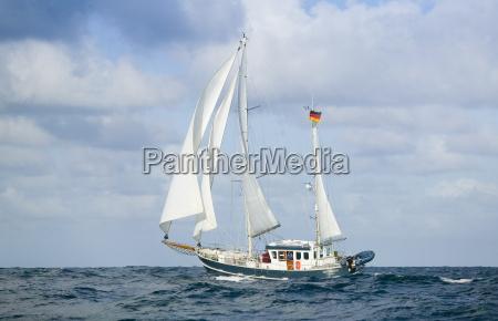 deep sea yacht
