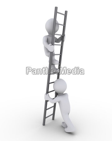 helping to climb the ladder