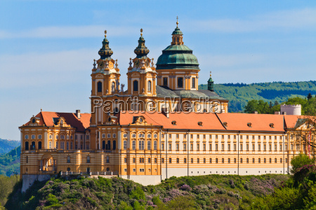 melk famous baroque abbey stift