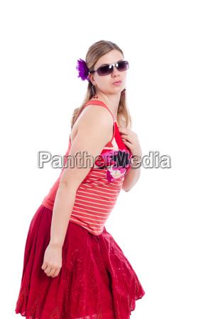summer fashion woman