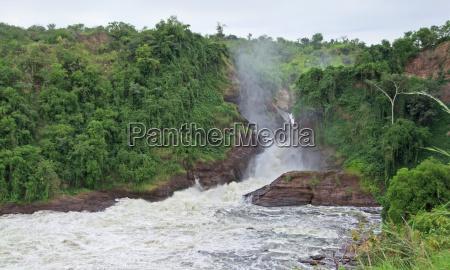 murchison falls in africa