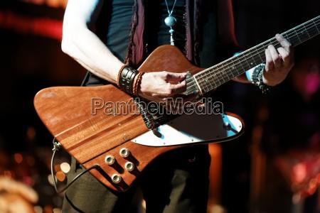 concert music musician guitar rock