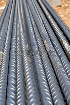 construction site background bars steel