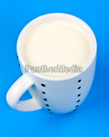 cupful of milk