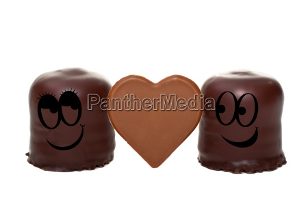 two chocolate kisses show up in