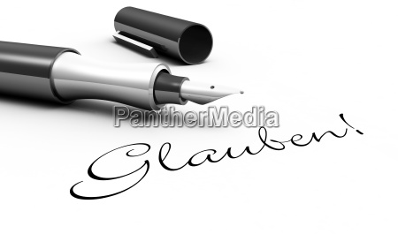 believe pen concept