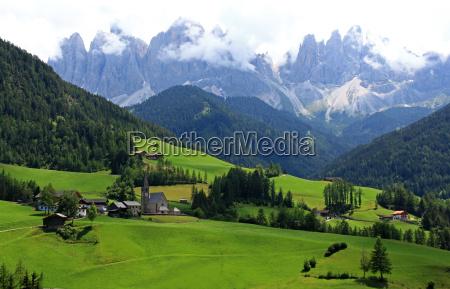 mountains dolomites alps meadows high mountains