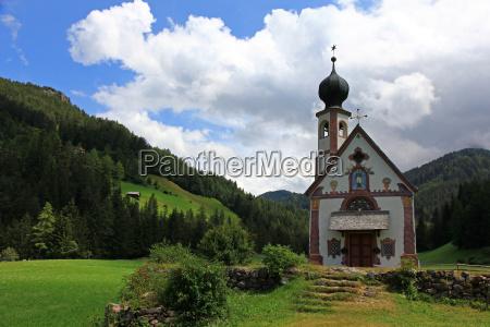 church mountains meadow mountain