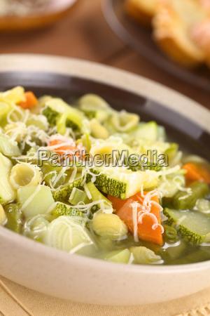 vegetable italian vegetarian starter pottage soup