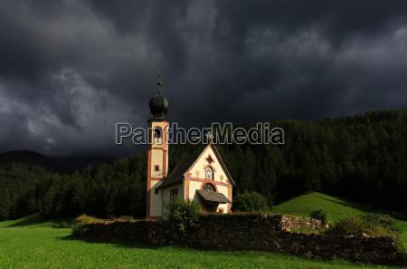 church art mountains chapel meadow mountain