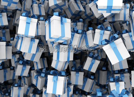 gift box background 3d